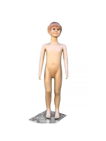 Манекен детский мальчик телесный реалистичный Код: М -30