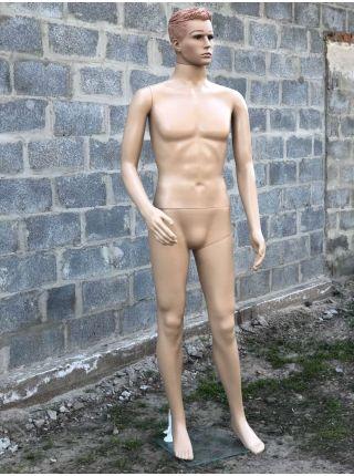 Манекен мужской телесный Код: М-14