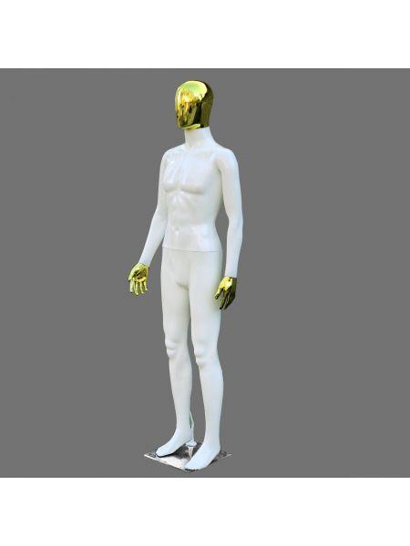 Манекен мужской Аватар белый  Код: М- 38