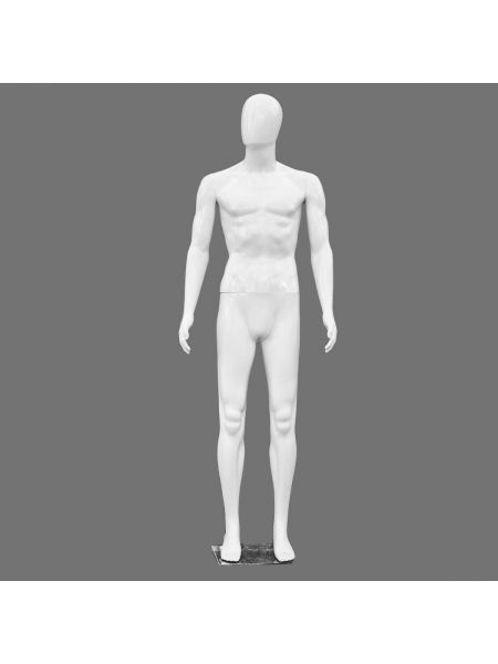 Манекен мужской Аватар белый  Код: М- 18
