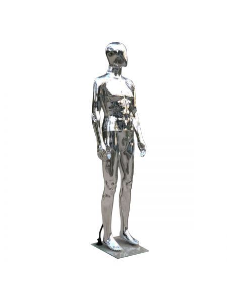 Манекен мужской черный в ролный рост lКод: М- 34