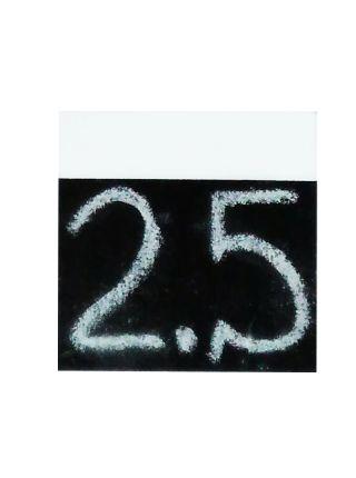 Меловые ценники 85х85 мм односторонные цветные