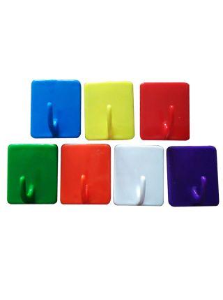 Пластиковый крючок для табличек липучка001