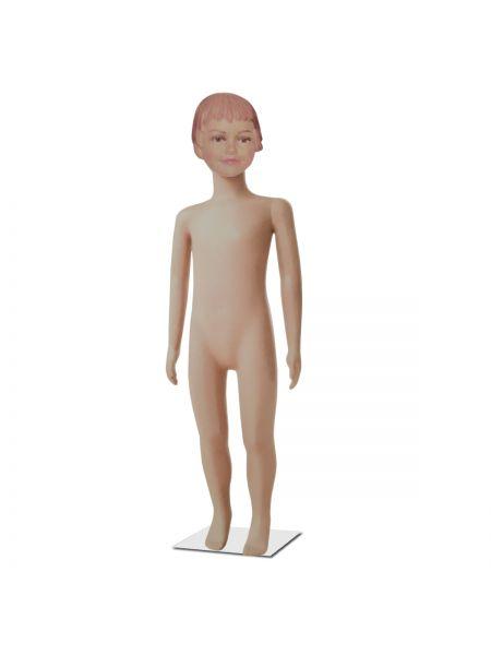 Манекен детский девочка телесный реалистичный Код: М -29