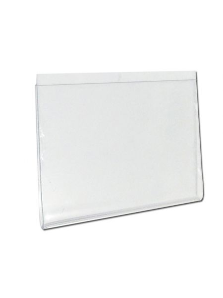 Карман защитный для ценника пластиковый 10 шт 100х75 мм Код  03-02-04