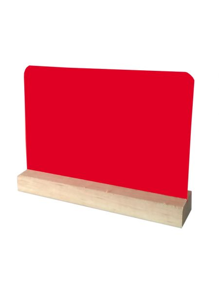 Ценник-табличка на подставке для надписи мелом и маркером Код 1034-R