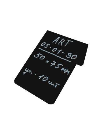 Черная табличка  для нанесения надписи мелом и маркером Код 05-01-90