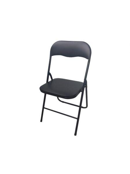 Раскладной стул цвет черный