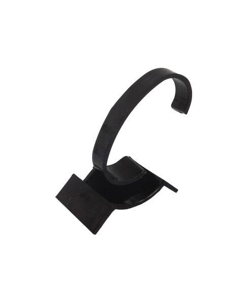Акриловая подставка для женских часов черная 87х37 мм