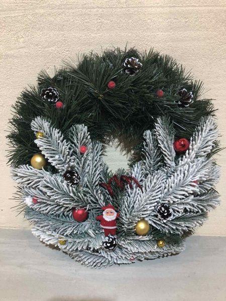 Венок новогодний рождественский  13