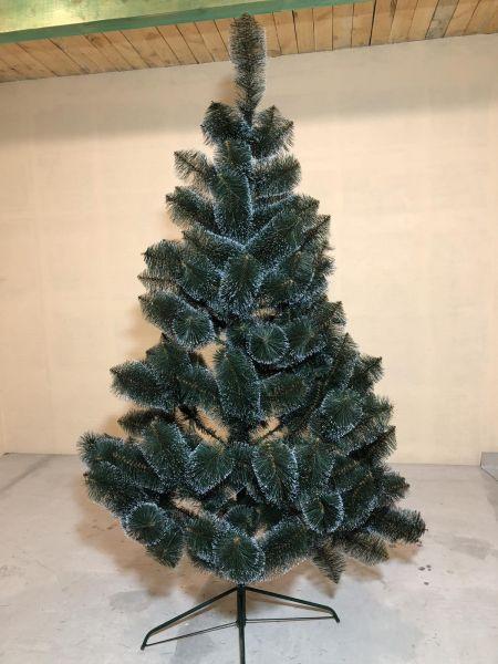 Искусственная елка Сосна с белыми кончиками все размеры 02