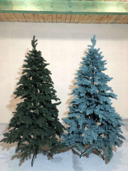 Искусственная елка Ель (буковельская) зелёная и голубая все размеры 09