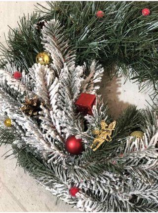 Венок новогодний рождественский  12