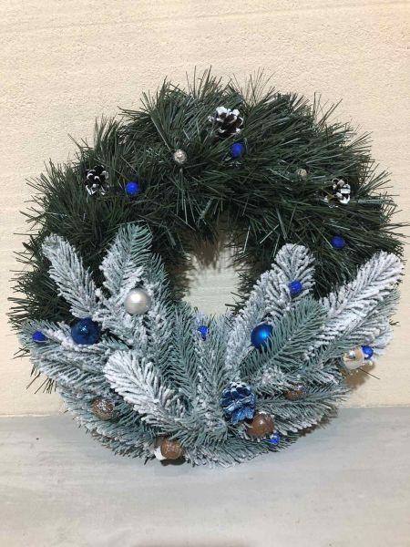 Венок новогодний рождественский  14