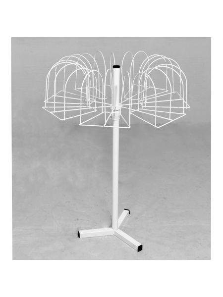 Вертушка шапочная для шапок 21 крючков настольная VB 36