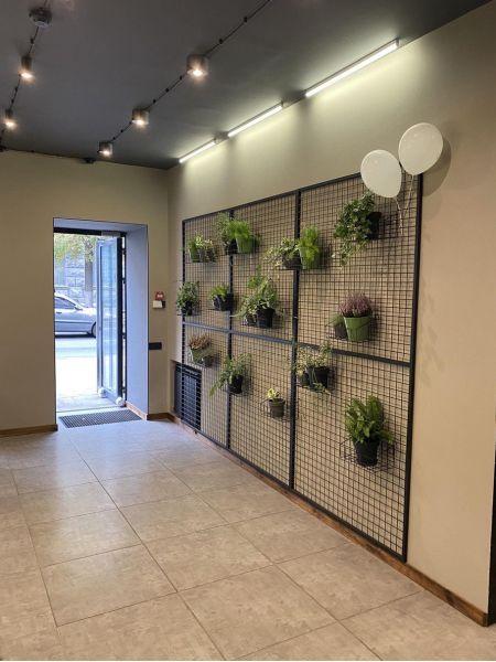 Декоративная сетка на стену