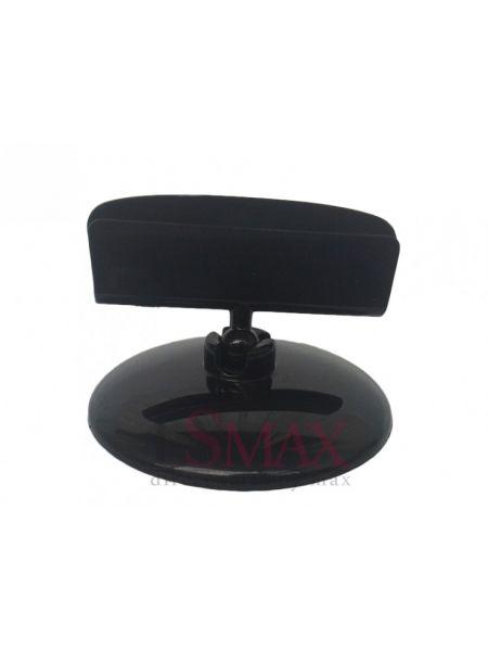 Пластиковые ценникодержатели на круглой подставке цвет черный Код: 05-02-02