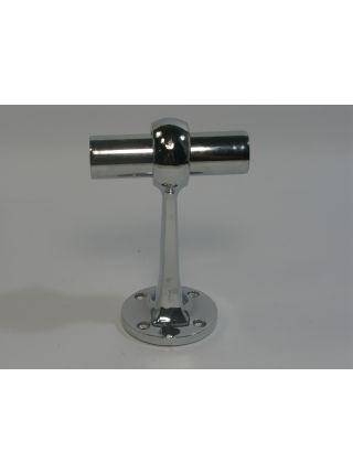 Кронштейн монолитный сквозной для крепления трубы  диаметром 25 мм JS 36