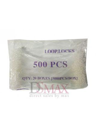 Биркодержатели хомуты 7 дюймов (ярлыкодержатели пластиковые соединители, петля)