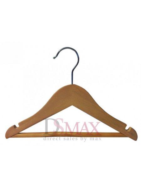 Деревянный тремпель для детской одежды TD 04