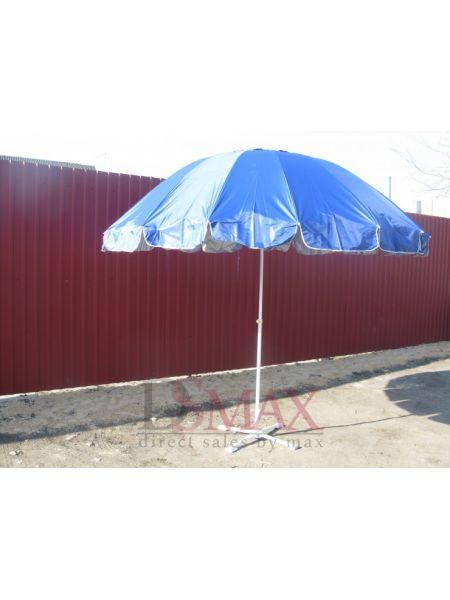 Торговый зонт круглый диаметр 3 м, без крестовины