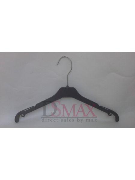Плечики пластиковые для верхней одежды Италия черные