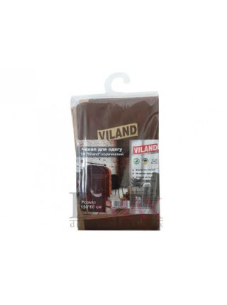 Чехол для одежды Viland 150х60 см цвет серый