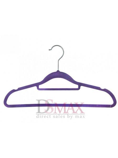 Плечики с велюровым покрытием для блузок TD 35