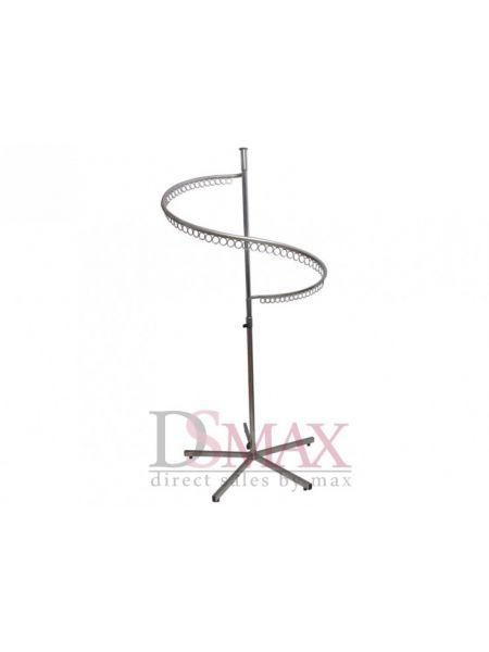 Стойка (вешало) для одежды Спираль мобильная VSР 03