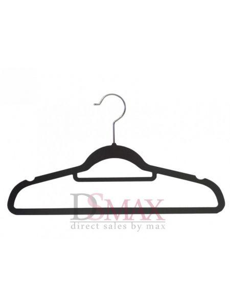 Плечики с велюровым покрытием для блузок TD 37