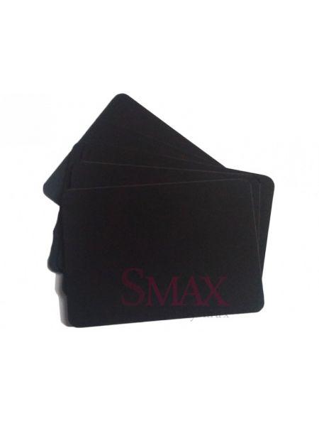 Черная табличка А6 для нанесения надписи мелом и маркером, упаковка. Код: 05-01-36