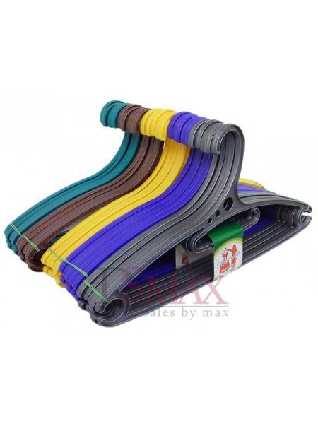 Плечики цветные пластиковые Аллегро TP 57