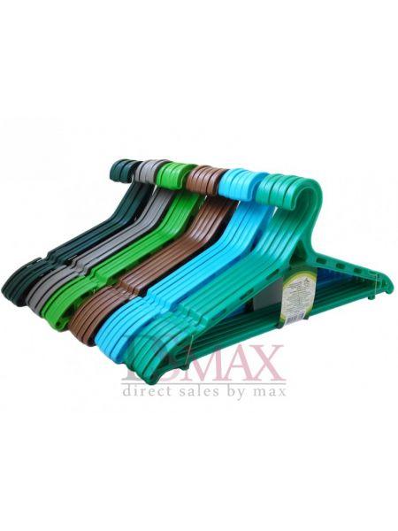 Плечики цветные пластиковые Классик TP 58