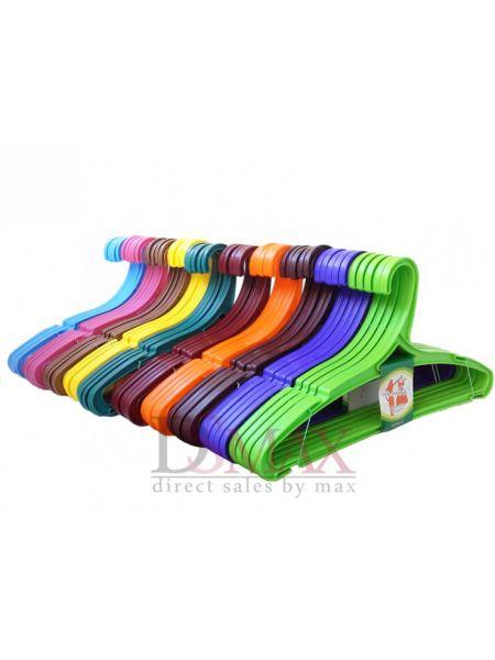 Плечики цветные пластиковые Радуга TP 59