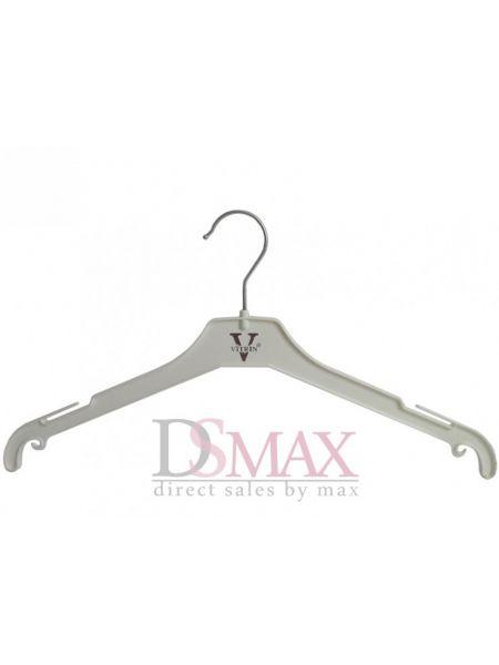 Плечики пластиковые для верхней одежды с крючками