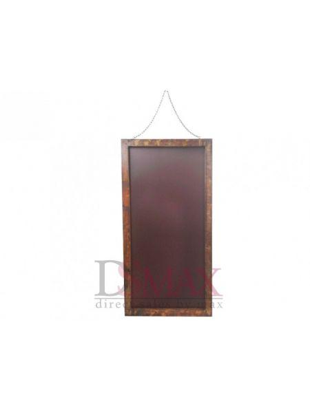 Рекламный стенд штендер настенный коричневый
