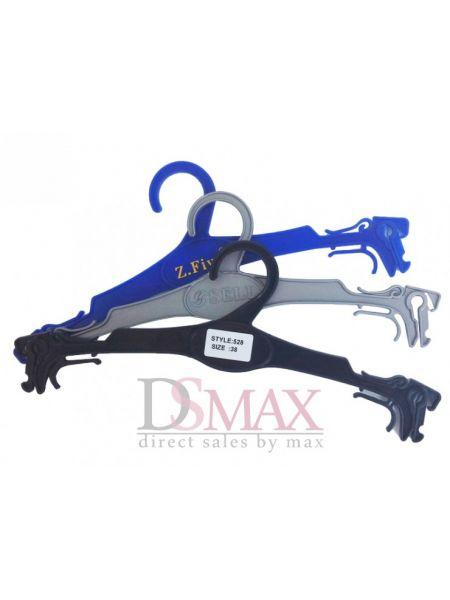 Плечики пластиковые для нижнего белья с крючками ширина 290 мм
