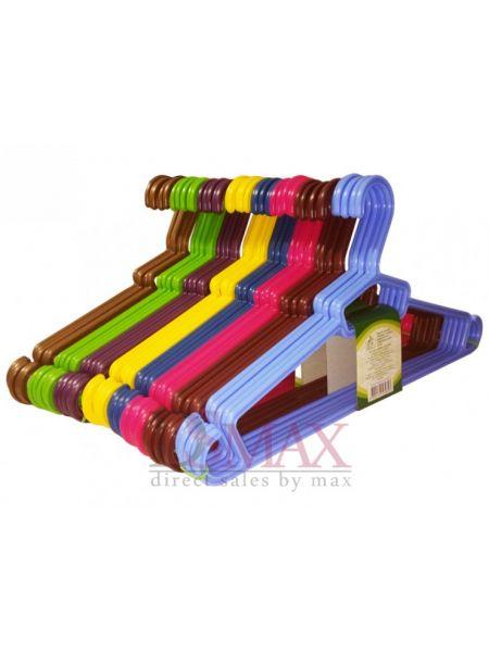 Плечики цветные пластиковые Модерн TP 64