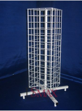Вертушка (барабан) настольная четырехгранная VB 20