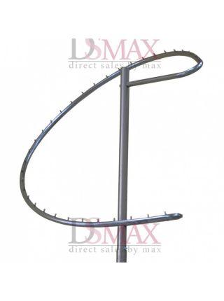 Стойка (вешало) Спираль для одежды VSU 05