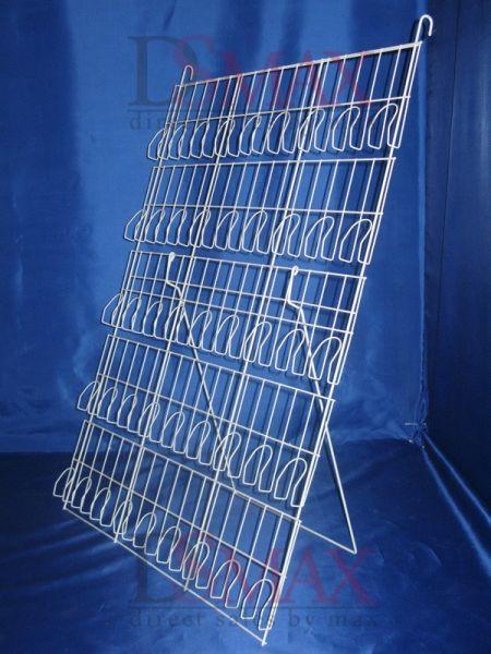 Стойка напольно-подвесная пятиполочная с прижимными карманами