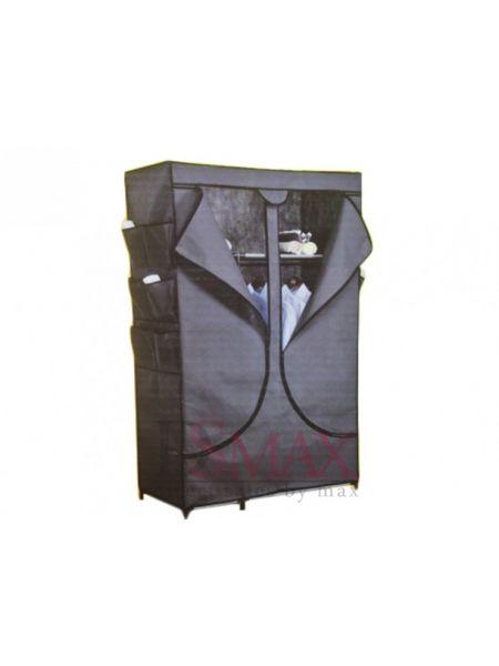 Тканевый шкаф-гардероб на 3 полочки PRO Запaс