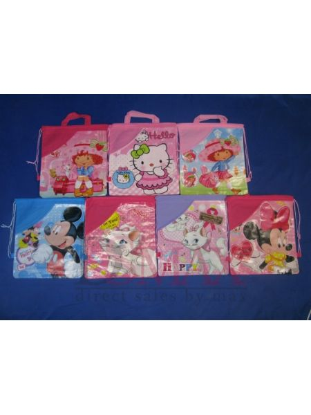 Пакеты-рюкзачки детские