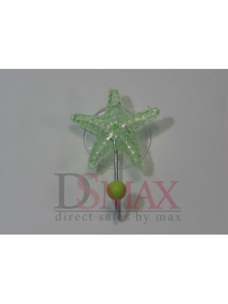 Крючок на присоске с звездой