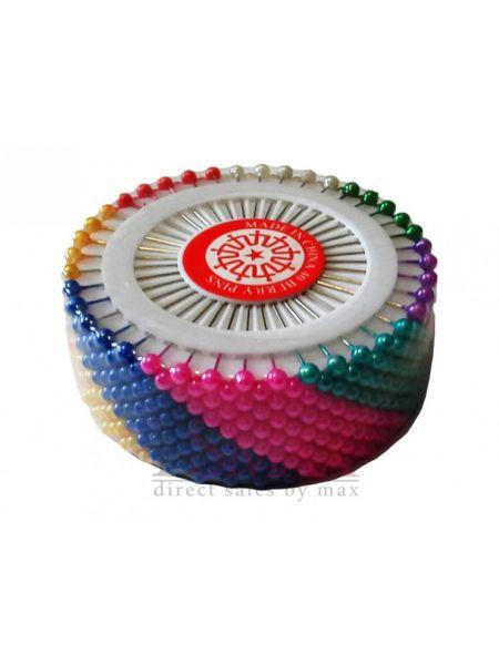 Портновские булавки разноцветные MCh 19