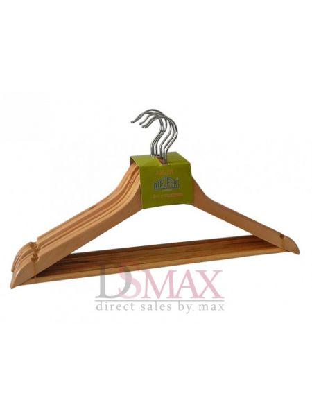 Плечики деревянные для верхней одежды Helfer TD 24