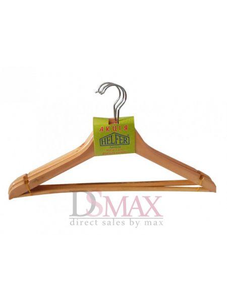 Плечики деревянные для верхней одежды Helfer TD 25